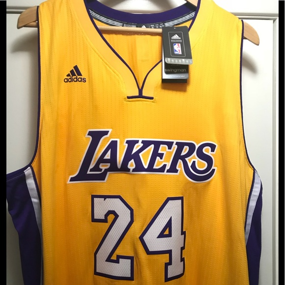 ac271622d LA LAKERS JERSEY. NWT. adidas